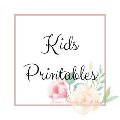 Printables for Kids Rooms, Wall Decor, Nursery Decor Nursery Prints, Nursery Decor, Wall Decor, Printable Planner, Printables, Kid Character, Woodland Creatures, Kids Prints, Frame It