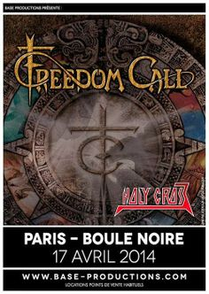 FREEDOM CALL – HOLY CROSS @ La Boule Noire – Paris – 17/04/2014