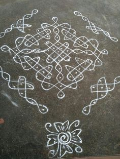 Rangoli Borders, Rangoli Border Designs, Rangoli Patterns, Rangoli Ideas, Rangoli Designs Diwali, Indian Rangoli, Rangoli Designs With Dots, Kolam Rangoli, Rangoli With Dots