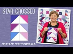 Star crossed Missouri Star Quilt Company Layer cake or charm pack friendly Missouri Star Quilt Tutorials, Quilting Tutorials, Quilting Designs, Msqc Tutorials, Quilting Ideas, Quilting Fabric, Star Quilt Patterns, Star Quilts, Quilt Blocks