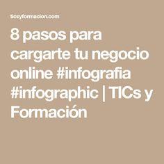8 pasos para cargarte tu negocio online #infografia #infographic | TICs y Formación