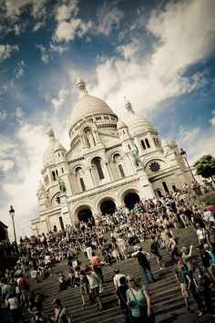 Sacré Cœur in Paris, France - I have been here three times and its still so beautiful. 2003, 2009, 2010