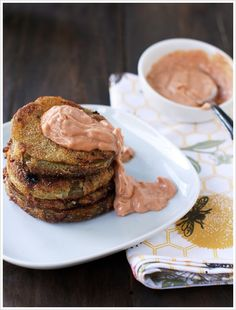 Fried Green Tomatoes with Guthrie's Sauce - Serves 4 -Pinner says I like mine with some ranch but this is good too.