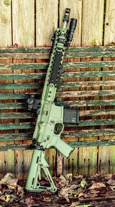 Mega arms green