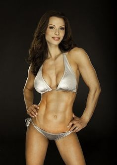 Jelena Abbou, fitness model and IFBB Pro Figure