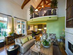 Cottage | Living Rooms | Anne Phillips : Designer Portfolio : HGTV - Home & Garden Television