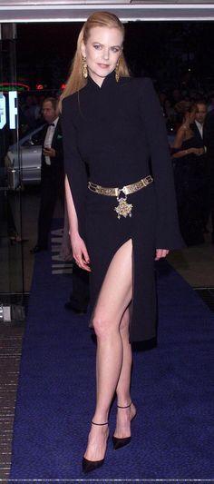 "Nicole Kidman in Tom Ford for YSL (""Moulin Rouge"") | Nicole Kidman ..."