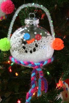 Frosty the Snowman Glass Ball