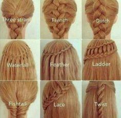 Hair tutorial  -girl hair styles