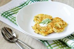 Dill Zucchini Fritters With Lemon Tzatziki http://www.rodalenews.co... Check out more recipes like this! Visit yumpinrecipes.com/