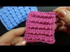 Тунисский узор вязания Tunisian crochet 25 - YouTube