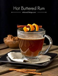 Hot Buttered Rum is a classic holiday cocktail and it's perfect for those chilly winter evenings snuggled up by a fire!