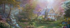 A Mother's Perfect Day Thomas Kinkade Company Home page