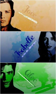 Jace, Isabelle and Alec Lightwood tumblr #shadowhunters