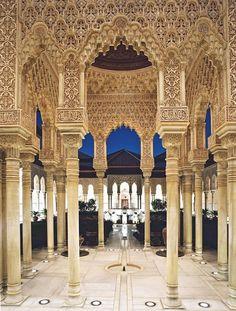 Alhambra in Granada, Spain.  http://www.vacationsmadeeasy.com/GranadaSpain/