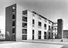Unidad Habitacional Jardín Balbuena 1952-1958  Col. Jardín Balbuena. México D.F.  Arq. Ricardo Flores Villasana, Arq.Octavio Sánchez, Arq. Jesús Palafox