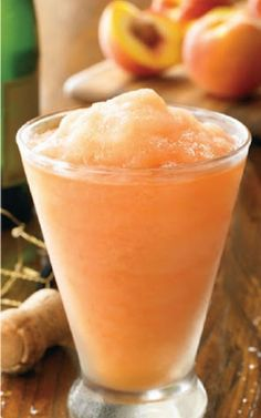 Australian Peach Bellini Recipe
