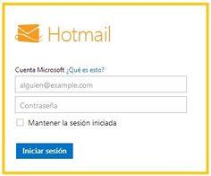 entrar hotmail iniciar una sesion de hotmail http
