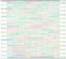 Elida Ceramica x Mosaic Oyster Brick Glass Wall Tile Glass Tile Backsplash, Mosaic Wall Tiles, Kitchen Backsplash, Glass Tiles, Stone Mosaic, Mosaic Glass, Stained Glass, Iridescent Tile, Best Floor Tiles