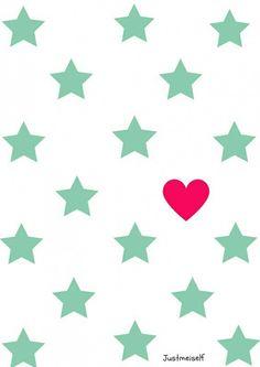 Star pattern A4 poster ● Troetel.com