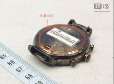 Asus ZenWatch 3 render foto bocor secara online menampilkan desain bulat