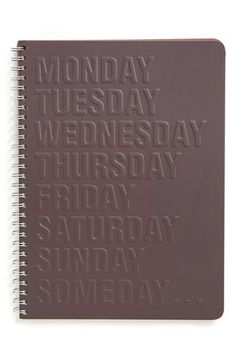 Bob's Your Uncle '8 Days a Week' Planner