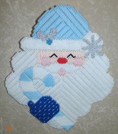 Blue Frozen theme Colors Candy Cane Christmas by BeachinBoutique