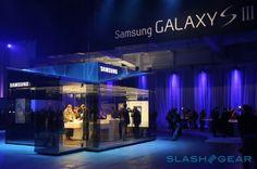 Samsung Galaxy S3 PIN pop-up shop