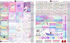 Este kit de stickers me lo han pedido mucho por Facebook, asi que aquí les dejo el resultado! Espero disfruten decorando su Happy Planner con él tanto como yo! :D ► Hoja 1 …