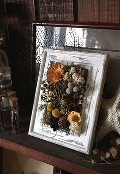 How To Make Paper Flowers, How To Preserve Flowers, Diy Flowers, Flower Decorations, Christmas Decorations, Flower Boxes, Flower Frame, Flower Art, Flower Shop Design