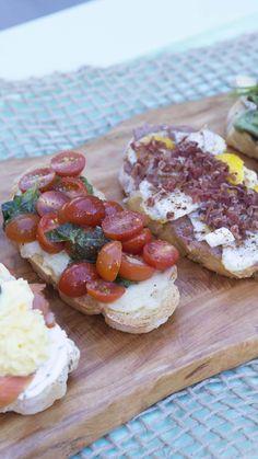Bruschetta, Tastemade Recipes, Real Food Recipes, Cooking Recipes, Food F, Sports Food, Tasty, Yummy Food, Arabic Food