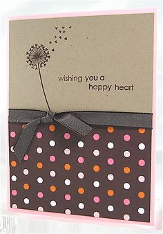 A Happy Heart - Stampin' Up!