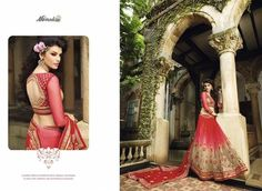 Red Georgette & Netted Sarees Online Shopping