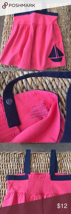 Girls summer top Vineyard Vines top. Excellent condition. Medium(10-12) Vineyard Vines Shirts & Tops