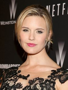 Maggie Grace Photos: Stars at the Weinstein Company/Netflix's Golden Globes Afterparty