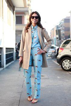 Viviana Volpicella - Milan Fashion Week