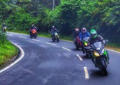 What a ride!  Fun filled rainy rides to Coorg and back. Wonderful stay at Recluse resort and the best part was the water rafting. More pictures coming up soon!! #RevLimiterZ #CoastalSuperBikers #BikerBoys #BikeLife #Coorg #Madikeri #Karnataka