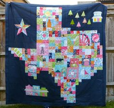 Pretty Little Quilts: Texas Roadtrip QAL Quilt Parade!!