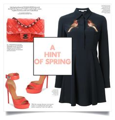 """""""Page #81 : A Hint of Spring"""" by justanaddict ❤ liked on Polyvore featuring Givenchy, Chanel and STELLA McCARTNEY"""