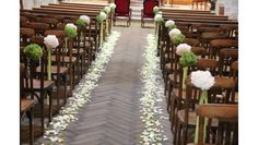par France Fleurs grâce au somptueux travail D'Event By Lili by France Fleurs thanks to the sumptuous work of Event By Lili Wedding Ceremony Ideas, Church Wedding Ceremony, Marriage Reception, Indoor Ceremony, Church Aisle Decorations, Trendy Wedding, Wedding Flowers, Batangas, Crocodiles