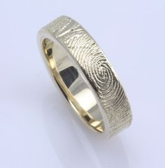 His fingerprint wrapped around my finger... beautiful. kristalee97