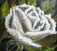 GALERIA PALOMO MARIA LUISA: BLANCA.... Vegetables, Painting, Food, Painted Flowers, Vegetable Recipes, Painting Art, Eten, Veggie Food, Paintings