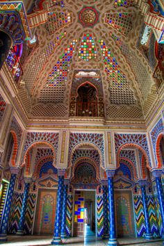 Moorish architecture is beautiful