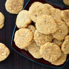 Crunchy Gluten Free Peanut Butter Cookies via @dropthesugar