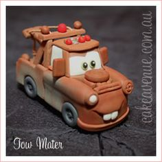 Mater  - very cute!  Now to try to make him in clay!