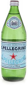 San Pellegrino is sourced from Italy