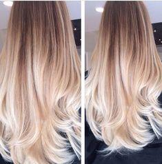 Blonde baylage/ombré
