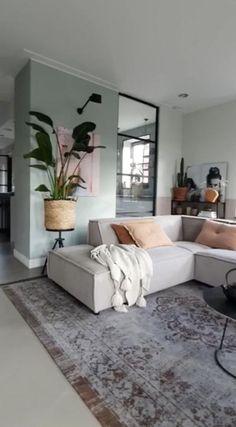 Scandinavian Design Living Room, Living Room Design Small Spaces, Condo Interior Design, Living Room Ideas Studio, Home Room Design, Home, Minimalist Home Interior, Minimal Apartment Decor, Living Room Sofa Design