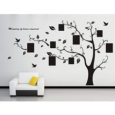 [NewYearSale]Wall Stickers Wall Decals, Family Tree PVC Wall Stickers – USD $ 19.99