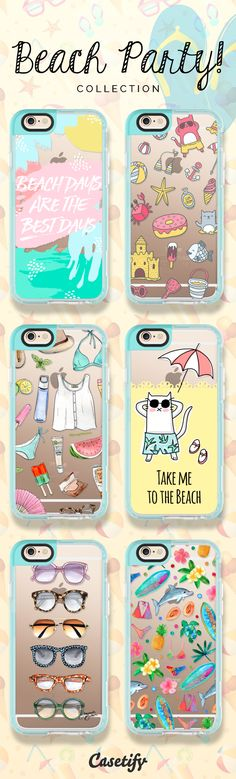 Let's start the #beach party! Click through to shop these iPhone 6 beach cases >>> https://www.casetify.com/artworks/FgWC2m5gYt | @casetify